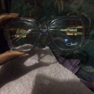 Clark Clear And Gold Glasses