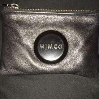 Mimco Small Matte Black Pouch