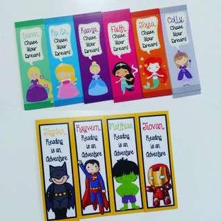 Customised Bookmark