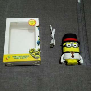 MINION POWERBANK FOR SALE