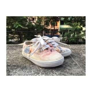 Floral Kids Shoes