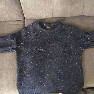 Mens Navy Sweater size S