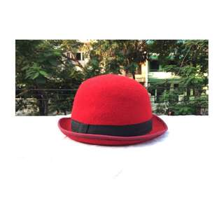 Vintage Ladies Round Hat