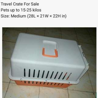 Travel Crate For Pets