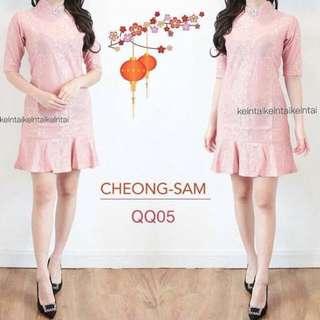 Dress Pink Kelntai