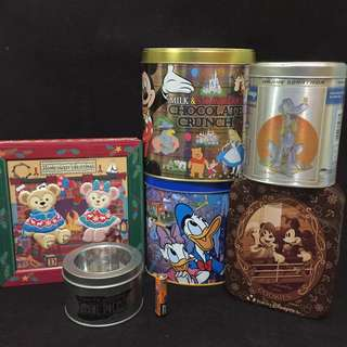 AUTHENTIC DISNEY TINCANS