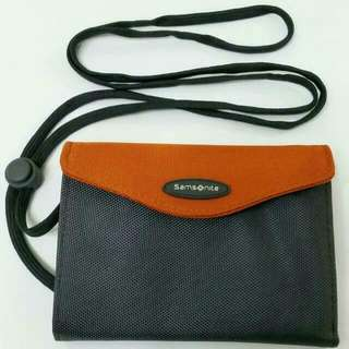 BN STYLISH Samsonite Passport Pouch (FREE LIMITED & CUTE Monopoly Luggage Tag)