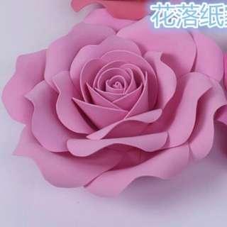 Wedding decorations - 20cm Styrofoam / Artificial / Fake flowers