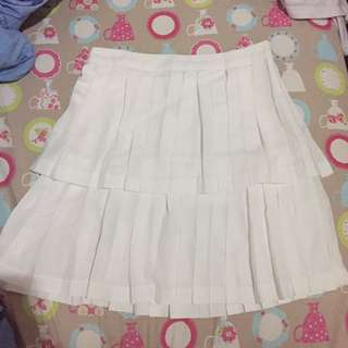 Pomelo White Skirt