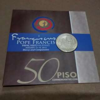 Pope Francis Papal Coin Commemorative 50 Piso Buy For A Cause