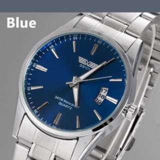 Luxurious Silver Watch(free Shipping Only)