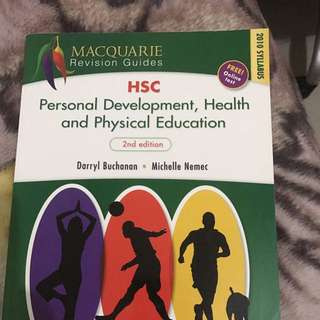HSC PDHPE TEXT BOOK