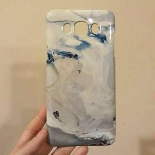 Premium Marble Case Samsung J7 2017