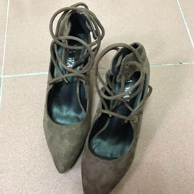 綁帶 高跟鞋#五百元好女鞋