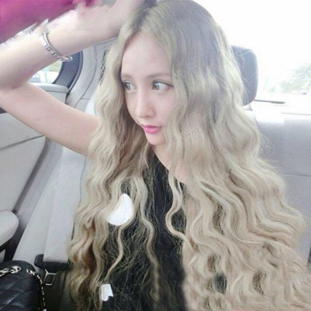 ✨全新白金 假髮✨