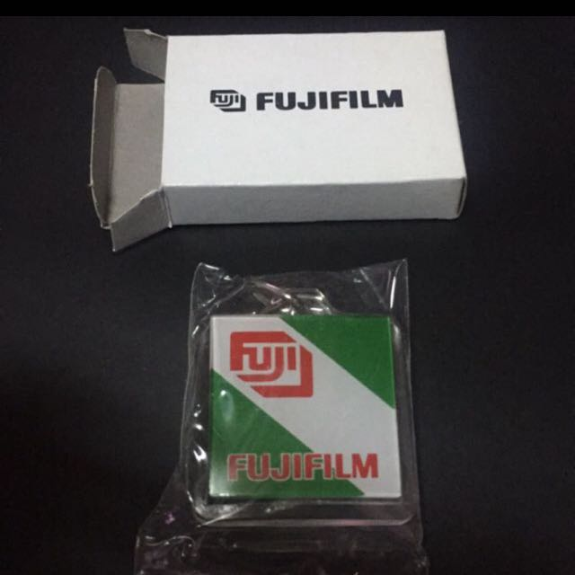 富士 Fuji logo 鑰匙圈 film Fuji color