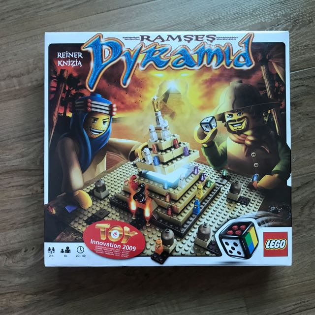 樂高桌上型遊戲拉美西斯金字塔 Ramses Pyramid