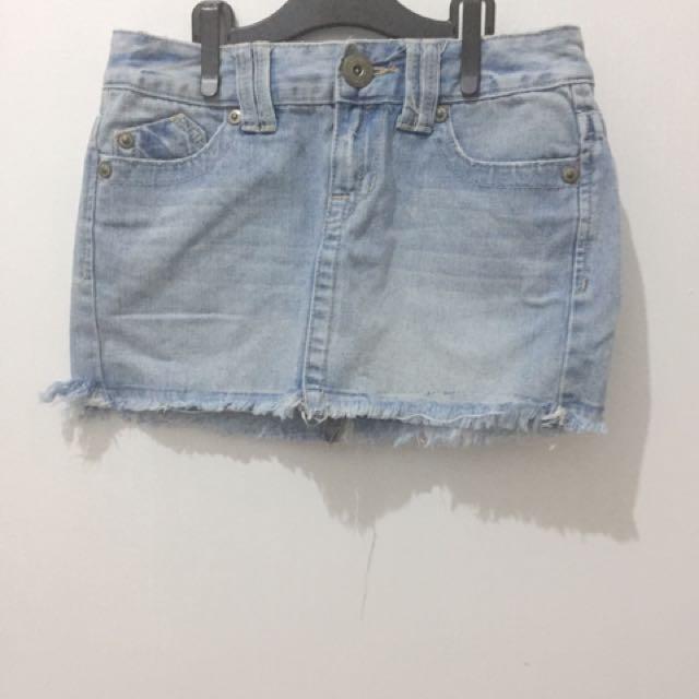REPRICED!!! Aeropostale Denim Skirt