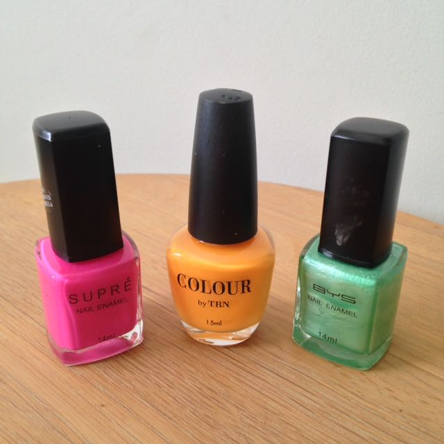 Assorted Fluoro Nail Polish