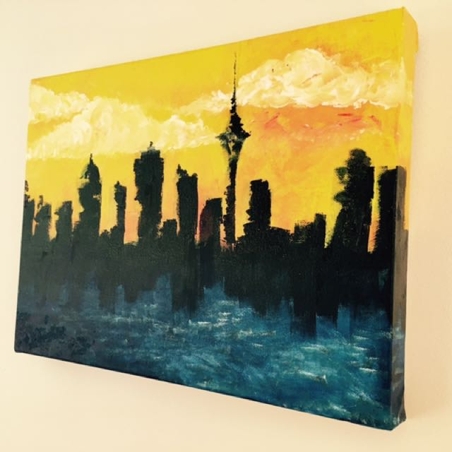 Auckland City Painting