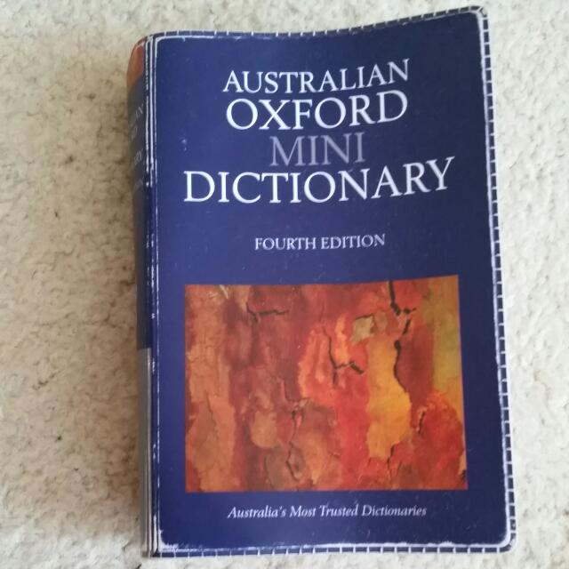 Australian Oxford Mini Dictionary Fourth Edition