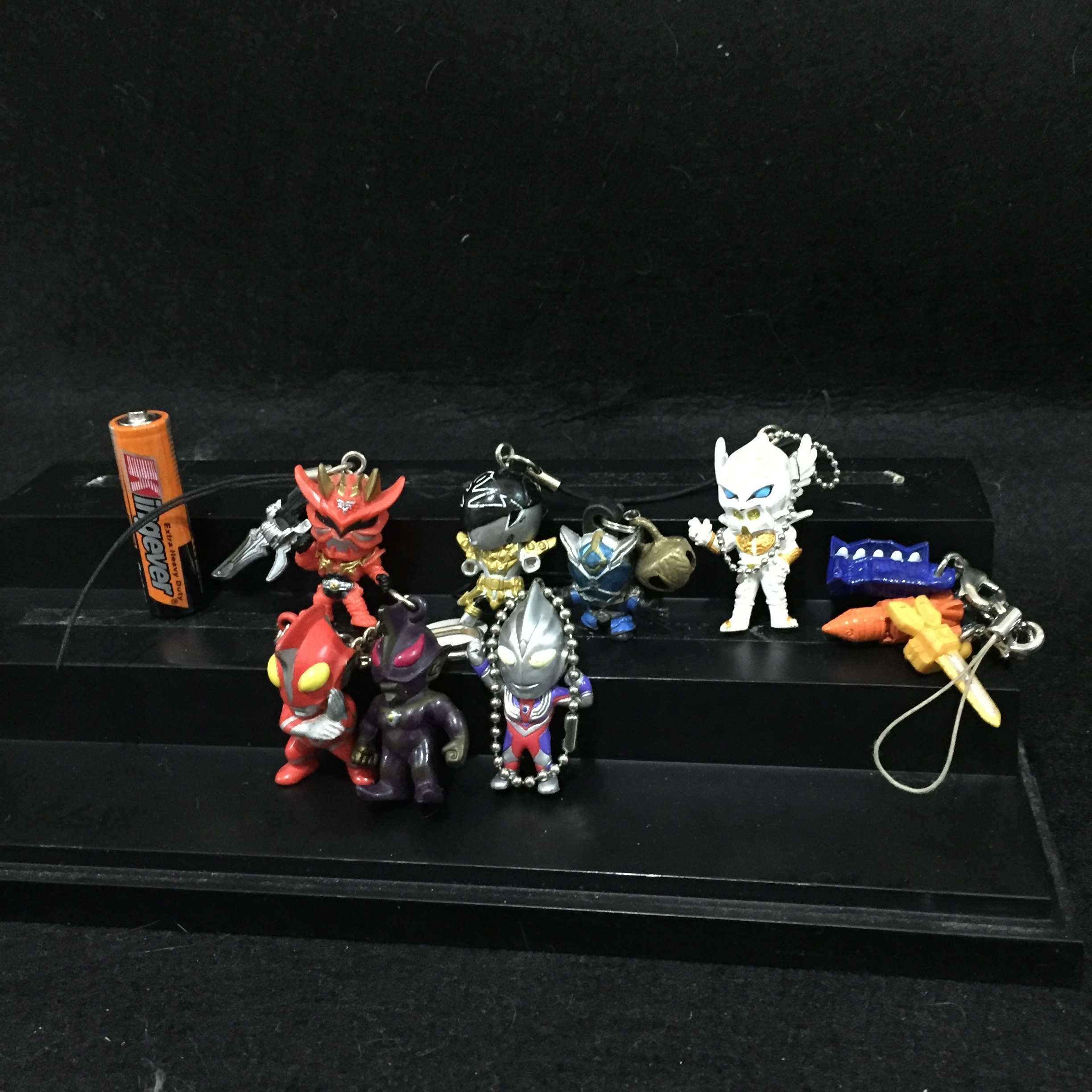 AUTHENTIC ULTRAMAN AND OTHER KEYRNGS