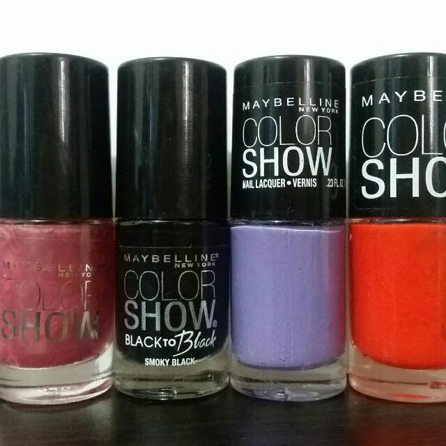 Authentic US Nail Polish . #revlon #maybelline #loreal #covergirl ...