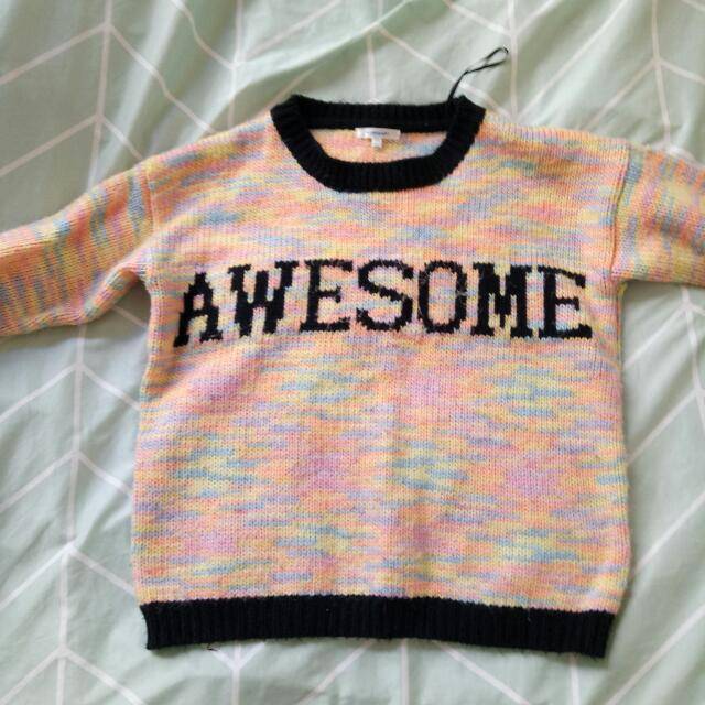 awesome sweater
