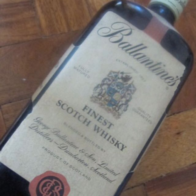Ballantines Finest Scotch Whiskey