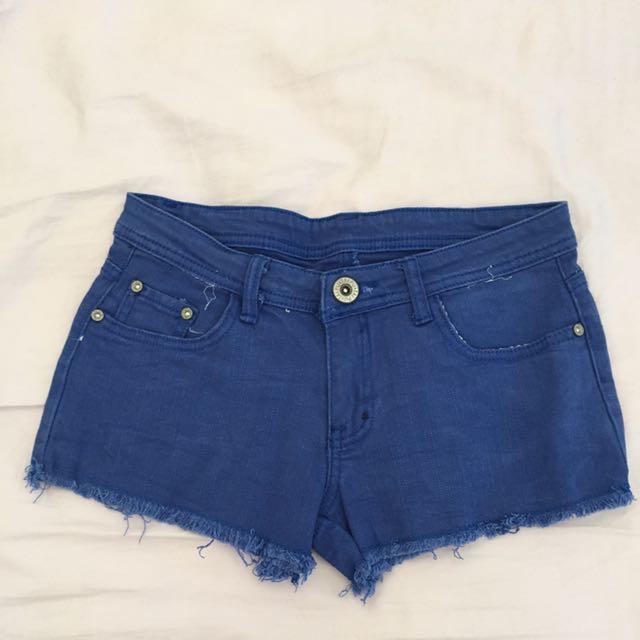 Blue Maong Shorts
