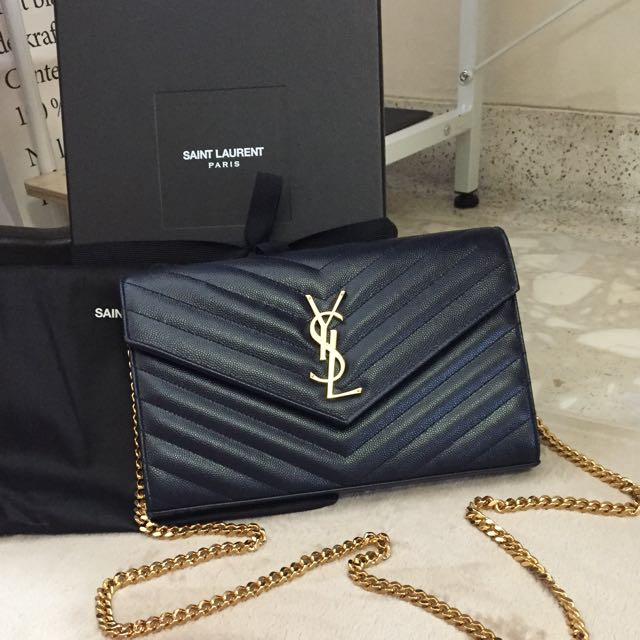 df0d51261ef0 YSL WOC Classic Wallet On Chain
