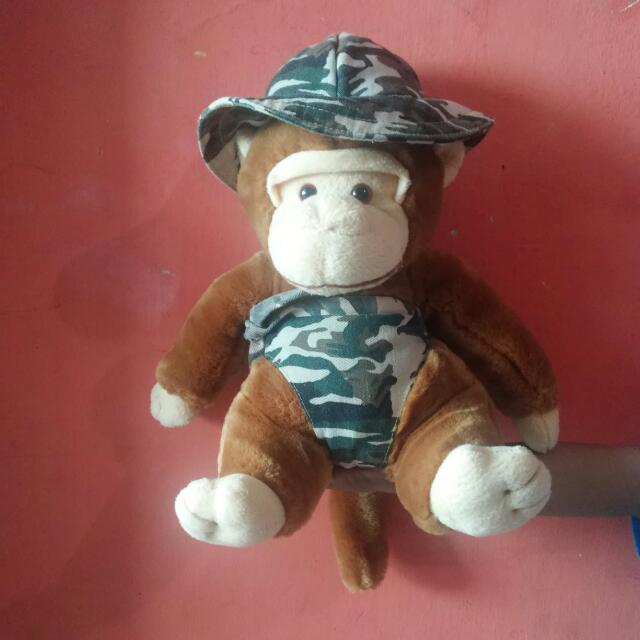 Boneka Monyet Army