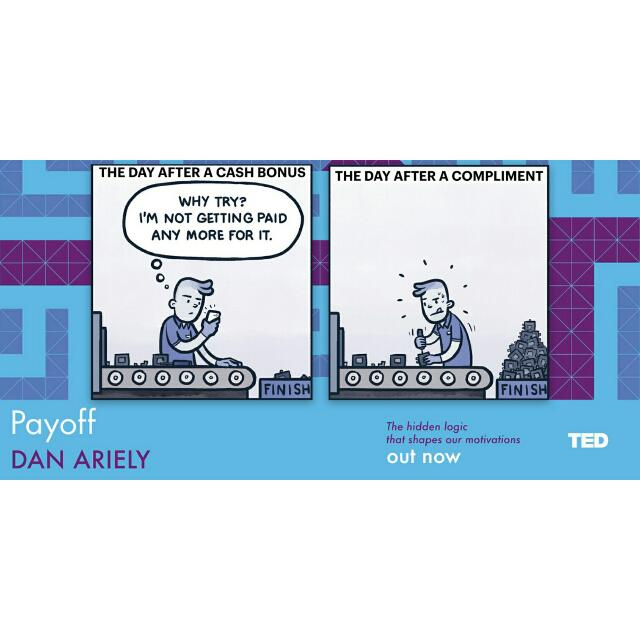 payoff the hidden logic that shapes our motivations ted books english edition