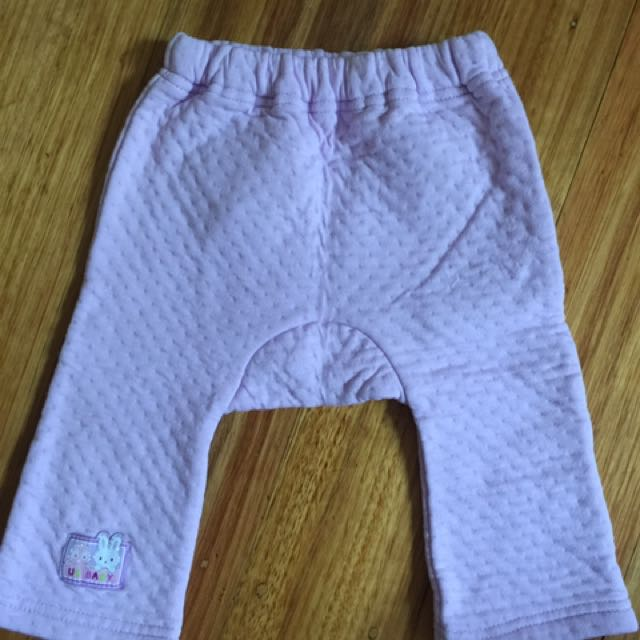 BRAND NEW Baby Bear Pants in light purple