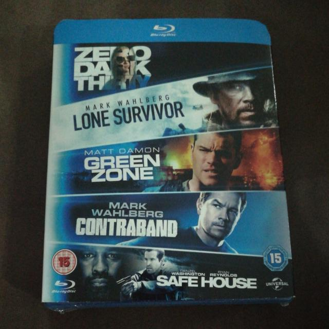 Brand New Sealed Original Blu Ray Dvd Box Set Lone Survivor