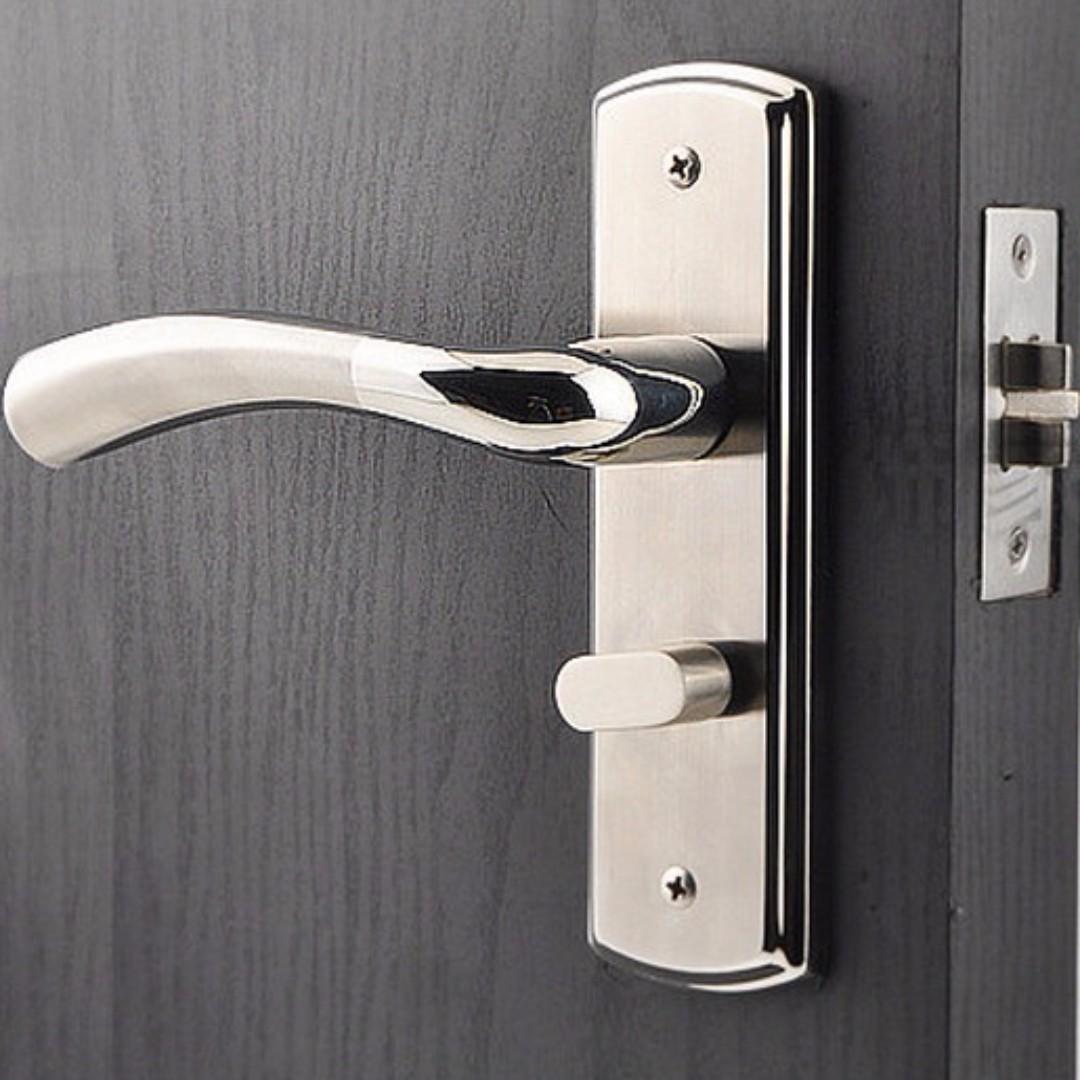 Brand new stainless steel door lock