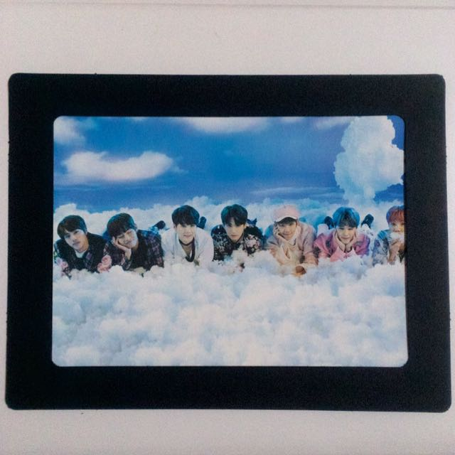 BTS Paper Frame Group Photo