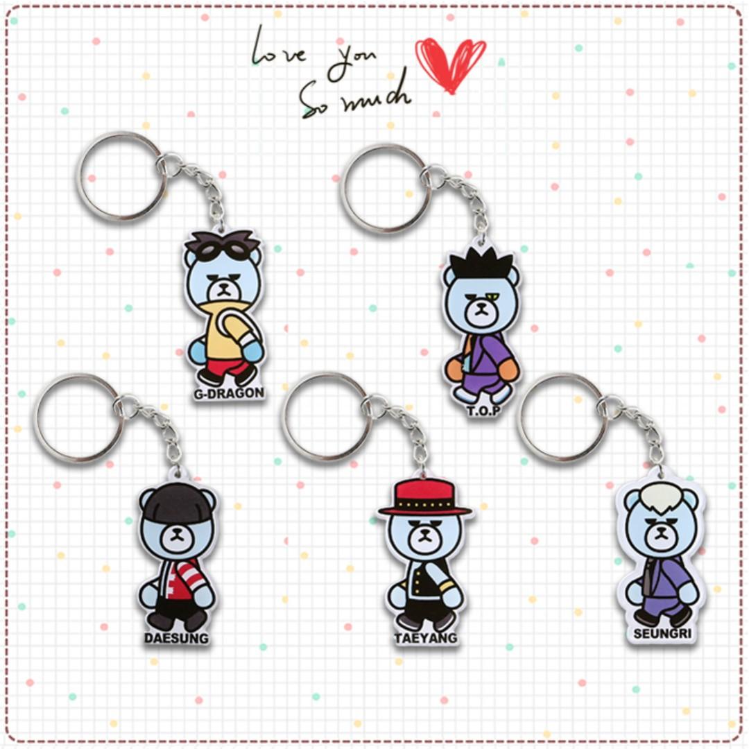 【CHANXOD】現貨_BIGBANG 壓克力鑰匙圈YSK-BB1