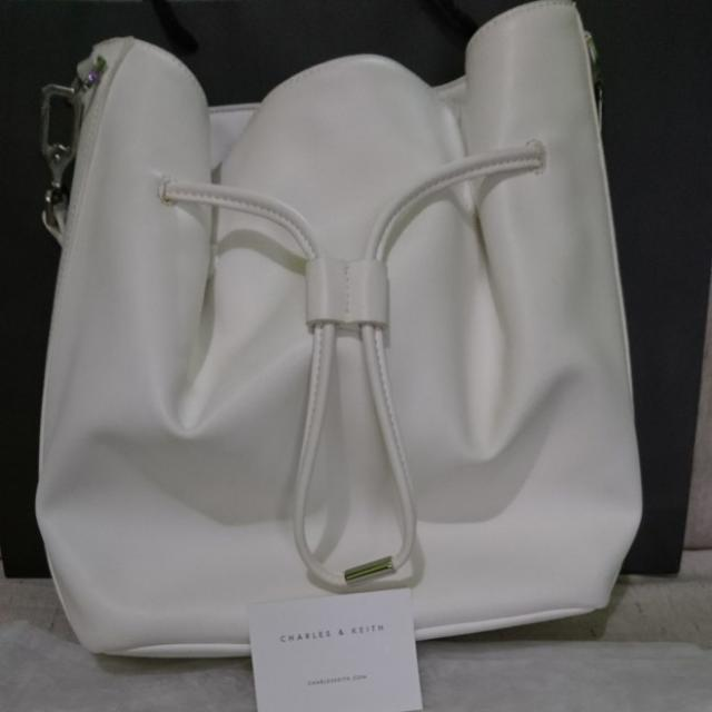 Charles & Keith Preloved Bucket/Sling Bag
