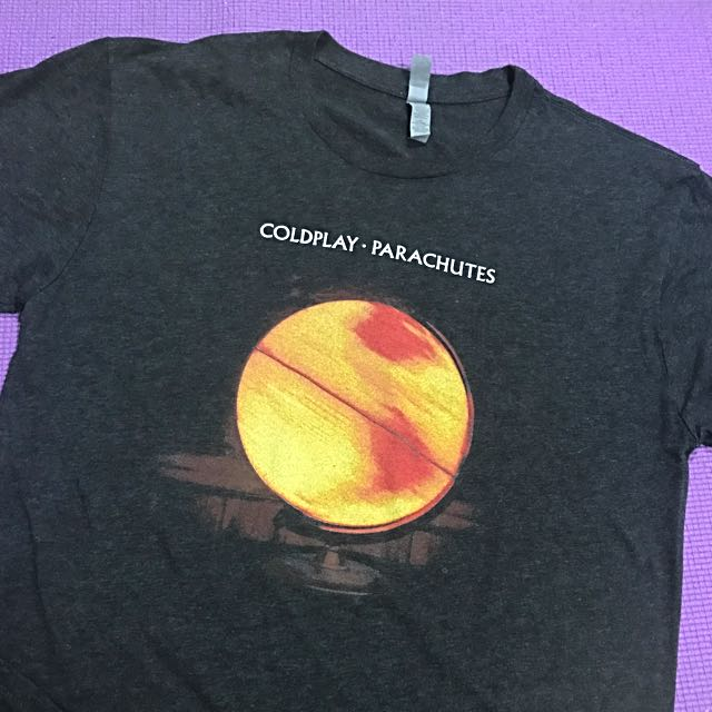 Coldplay Parachutes Album Cover T-Shirt For A Head Full Of Dreams Tour 2017