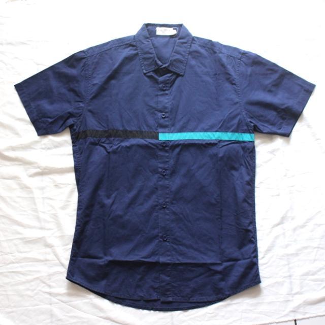 Colour Block Stripes Shirt From Zalora Man