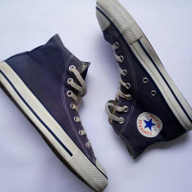 Converse  ct hi cut blue navy