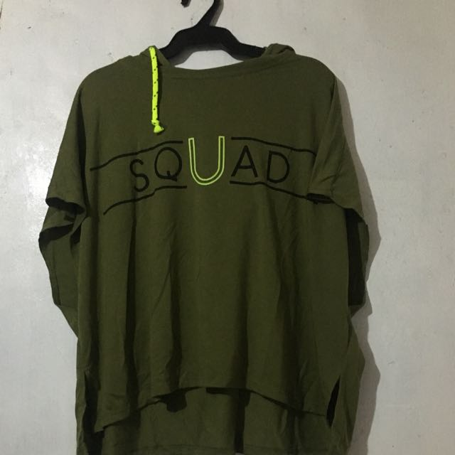 Cotton On Shirt With Hoodie