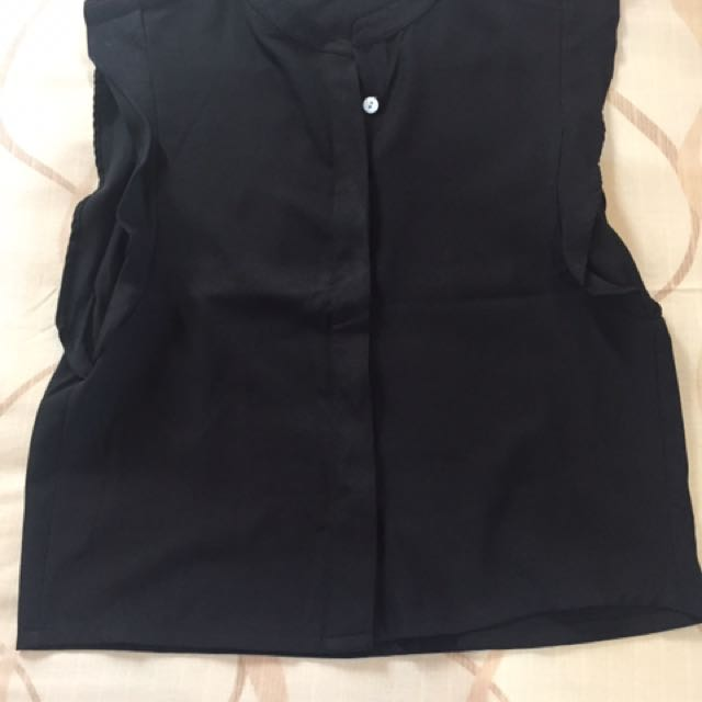 Crop Top - Black