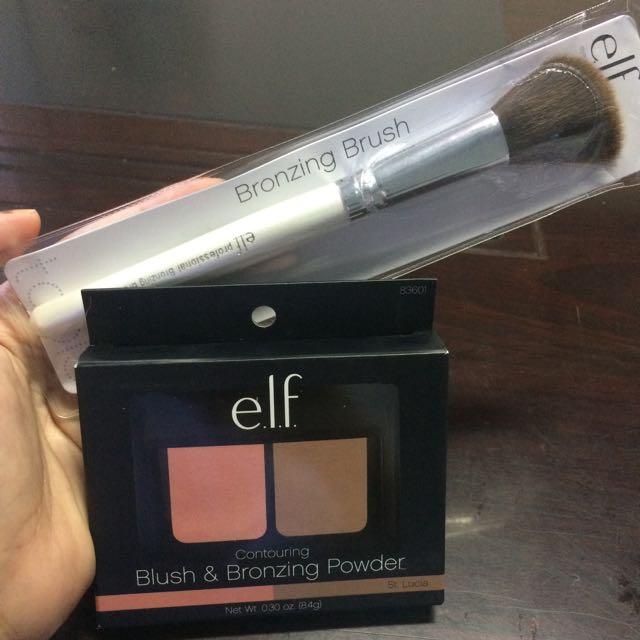 ELF Blush & Bronzing Powder (St.Lucia)