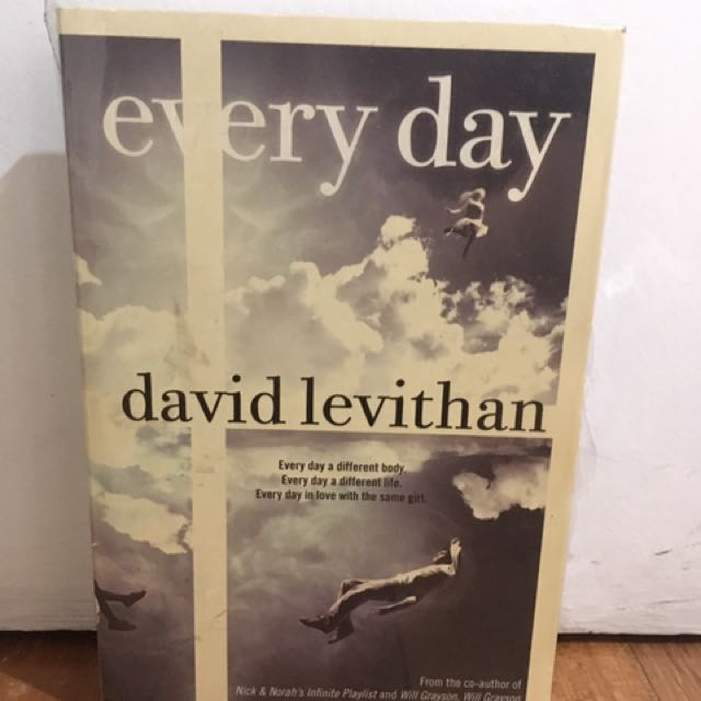 Everyday - David Levithan NEW