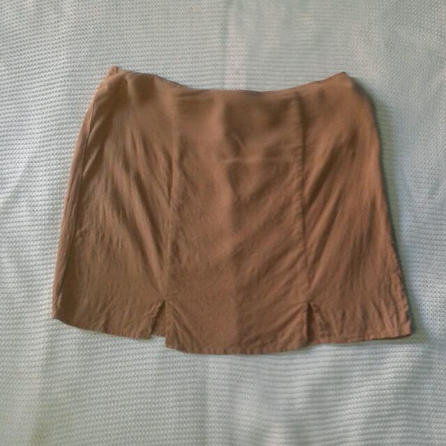 Forever21 Brown Skirt