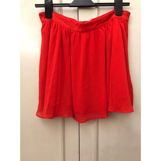 Forever 21 Chiffon Skirt