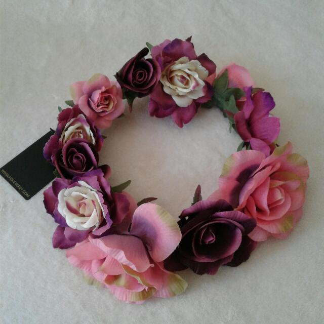 FOREVER 21 Floral Head Band