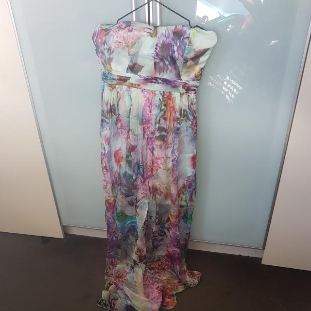 Forever New Maxi Dress Sz 8